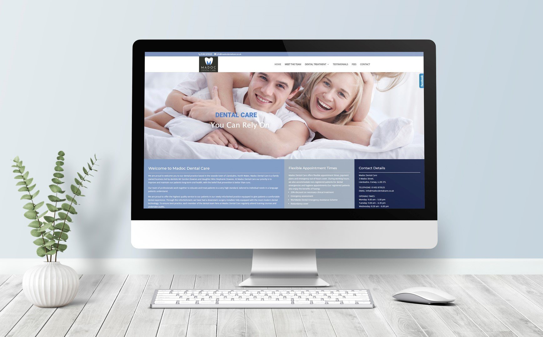 Web design North Wales