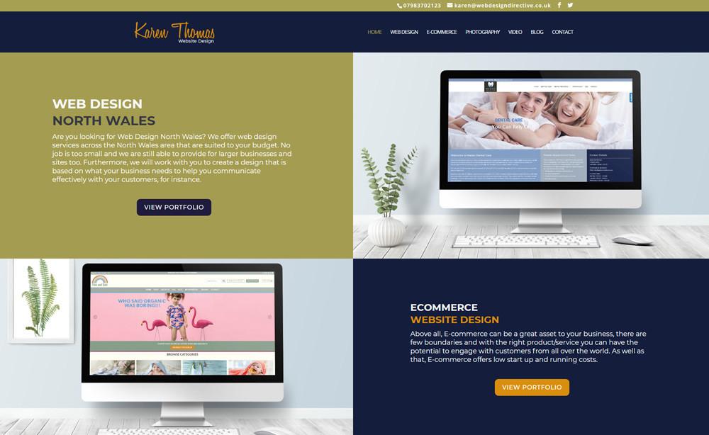 Web Design North Wales Affordable Website Design From Karen Thomas
